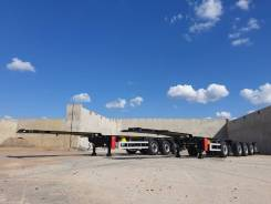 Orthaus. Облегченный 4х-осный п/п контейнеровоз CGS, 47 500кг.