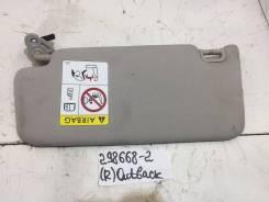 Козырек солнцезащитный правый [92011AL030ME] для Subaru Outback IV, Subaru Outback V [арт. 298668-2]