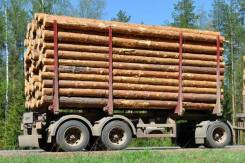 Дизель-ТС. Прицеп лесовоз двускатный 6,7 метров Дизель С, 18 000кг. Под заказ