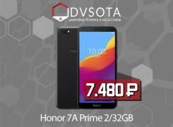 Honor 7A. Новый, 32 Гб, Черный, 3G, 4G LTE, Dual-SIM. Под заказ