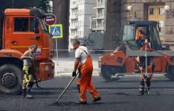Дорожный рабочий-бетонщик-разнорабочий. Приморский край