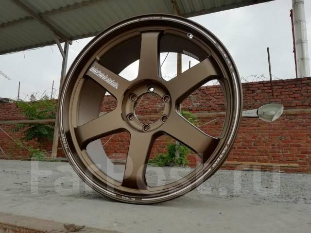 """RAYS Volk Racing TE37 Ultra Large P.C.D. 9.0x22"""", 6x139.70, ET20, ЦО 112,0мм."""