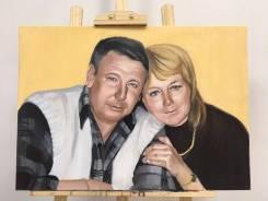 Художник. Портреты по фото и с натуры. Картины на заказ карандаш масло