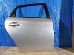 Дверь задняя правая 1f7 серый toyota prius zvw30-16