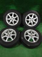 (Комплект 4461)Dunlop Enasave EC204 185/65R14+диски Weds Treffer