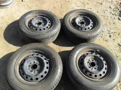 Комплект оригинальных штампованных дисков Toyota R15 5x114,3.