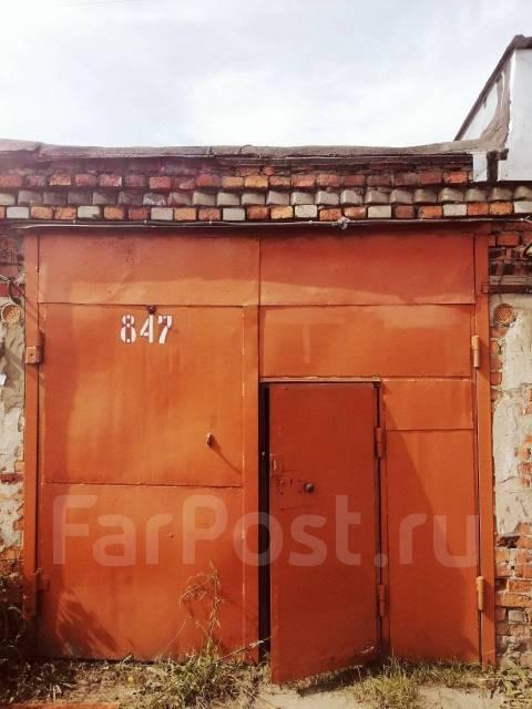 Гаражи капитальные. Комсомольск на Амуре, волочаевка 1, р-н Волочаевское шоссе 5, 18,0кв.м., электричество, подвал.