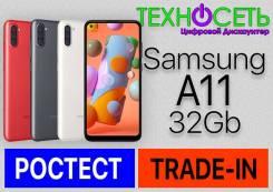 Samsung Galaxy A11. Новый, 32 Гб, Белый, Красный, Черный, 3G, 4G LTE, Dual-SIM, NFC. Под заказ