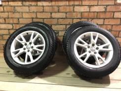 Комплект колес в сборе, зима, шипы, 4 шт.