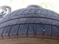 Продам колеса. Шины Bridgestone VRX 185/65 r14 на штампованных дисках