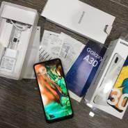 Samsung Galaxy A30. Б/у, 64 Гб, Белый, 3G, 4G LTE, Dual-SIM, NFC