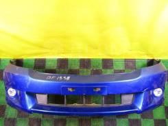 Бампер передний Honda Stream RN1 (2я мод. ) с туманками синий