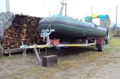 Амур. 2011 год, длина 4,70м., двигатель подвесной, 40,00л.с., бензин