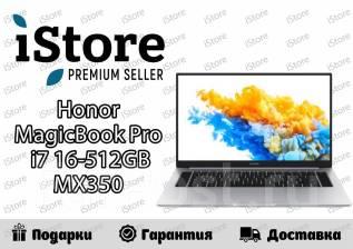 "Honor MagicBook Pro. 16.1"", ОЗУ 16 Гб, диск 512Гб, WiFi, Bluetooth"