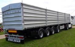 Steelbear. Полуприцеп зерновоз 60 кубов, 60 000кг. Под заказ