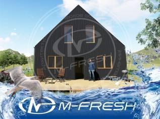 M-fresh BarnHouse Black (Проект современного дома в стиле Барнхаус). 100-200 кв. м., 2 этажа, 4 комнаты, бетон