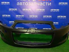 Бампер передний Chevrolet AVEO T300 2011- пр-во Корея