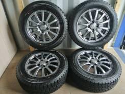 Отличный комплект литья с зимними шинами 185/65R14 Япония (№77)