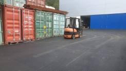 Сдаём в аренду 20фут контейнеры (р-н Дальхимпрома). 14,0кв.м., улица Проселочная 5а, р-н Снеговая