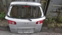 Дверь задняя Mazda Demio 2004 DY3W без стекла