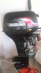 Suzuki. 15,00л.с., 2-тактный, бензиновый, нога S (381 мм), 2008 год
