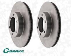 Диски тормозные передние пара G-brake GR-02916 Япония Prado 120 GR-02916