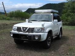 Передний бампер на Nissan Safari/Patrol Y61