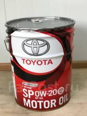 Toyota. 0W-20, синтетическое, 20,00л. Под заказ
