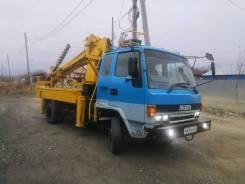 Isuzu Forward. Ямобур автобуровая, 7 000куб. см., 3 000кг.