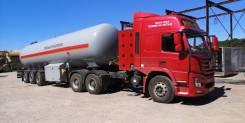 Dayun. Седельный тягач CGC4250 на сжатом метане (КПГ), 12 000куб. см., 42 000кг., 6x4