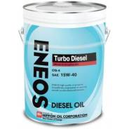 Eneos Turbo Diesel. 15W-40, минеральное, 20,00л.