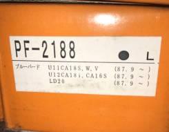 Колодки тормозные передние Nisshimbo PF2188