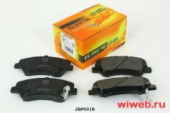 Колодки тормозные дисковые передние Just Drive JBP0318 Hyundai/KIA