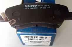 Колодки тормозные дисковые передние Mando MPH46 Hyundai/KIA