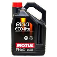 Motul 8100 Eco-Lite. 0W-20, синтетическое, 4,00л.