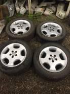 """Зимние колеса. Диски от Toyota Kluger Шины 215/60R17. x17"""" 5x114.30"""