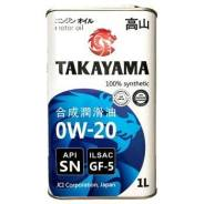 Takayama. 0W-20, синтетическое, 1,00л.