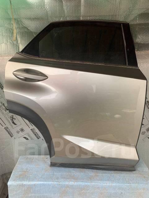 Дверь задняя правая в сборе, серая Lexus NX