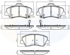Колодки тормозные дисковые передние Comline CBP32040 Hyundai/KIA