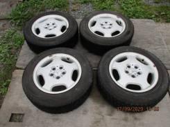 Продажа литые диски Mercedes 7.5 c резиной Hankook 215/60R16 в Находке