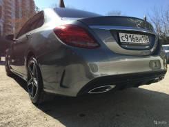 Новый задний бампер Mercedes W205 комплектация AMG