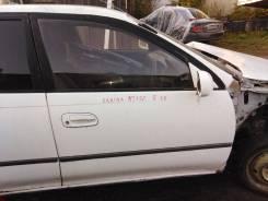 Дверь боковая Toyota Carina, правая передняя AT192, 5AFE