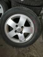 Литые диски оригинал Nissan + 185/65R15
