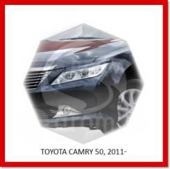 Реснички (Накладки) на фары Toyota Camry 50 2011-2014г
