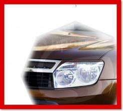 Реснички (накладки) на фары Renault Duster 2010г- по н. в