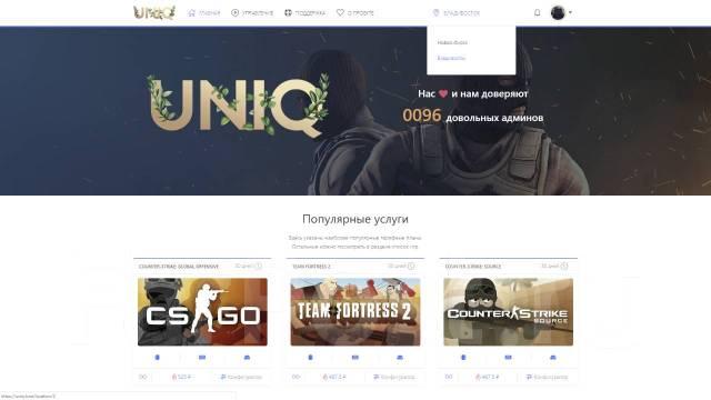 новосибирский хостинг игровых серверов