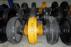 Направляющее колесо гусеницы (ленивец) для экскаватора