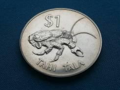 Токелау 1 доллар 1980 г.