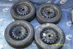 [10705] Комплект колес на зимней резине Bridgestone 2017г. 195/65/15