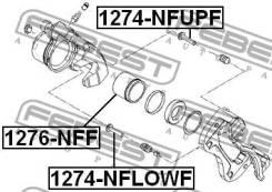 Поршень суппорта тормозного переднего Febest 1276NFF